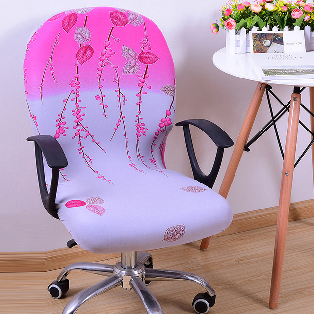 Lift Chair Covers Outdoor String Chairs Customize Office Comfortable Seat Slipcovers Computer Removable Stretch Rotating Cover