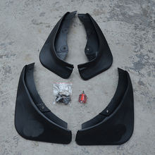 Free Shipping High Quality ABS Plastics Automobile Fender Mudguards Mud Flaps For 2002-2008 Mazda 6