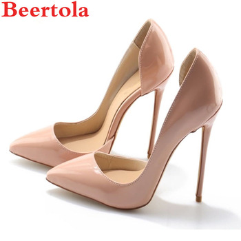 Beertola Woman Shoes Stiletto High Heels Woman Pumps