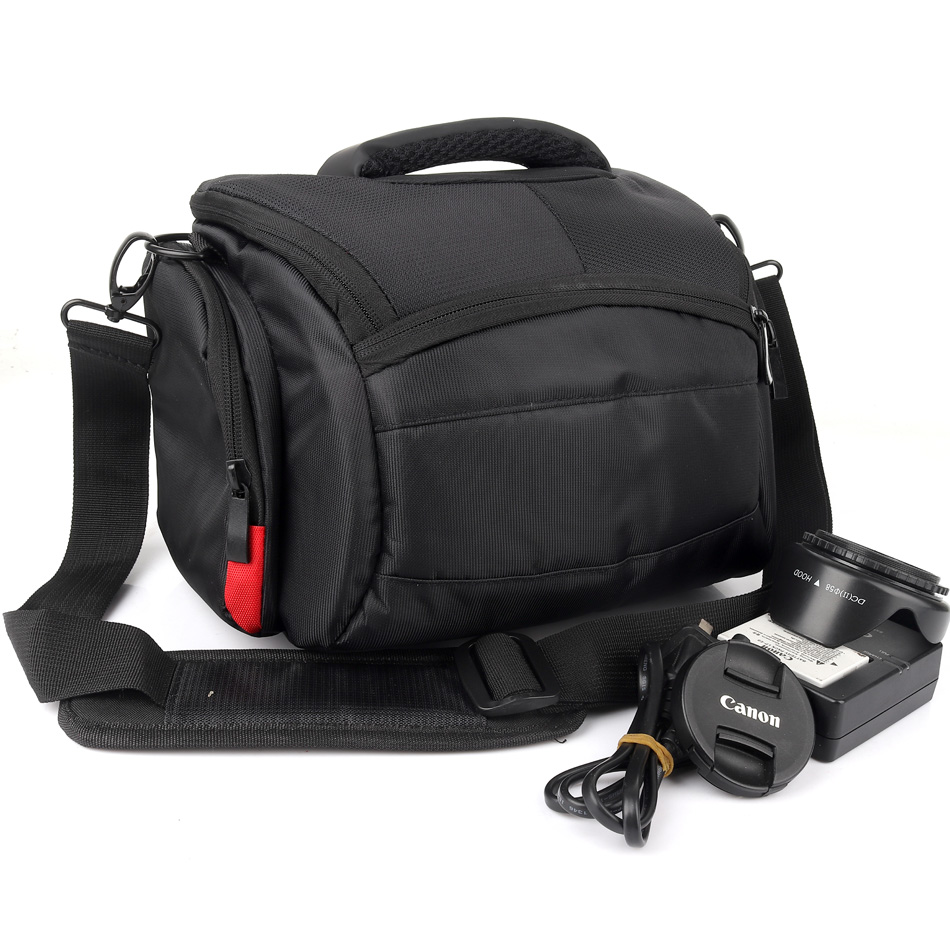 Waterproof DSLR Camera Bag Case Cover For <font><b>Sony</b></font> Alpha A7 II III A580 A560 A500 A220 <font><b>A230</b></font> A290 A300 A330 A390 A450 DSC-HX400 HX300 image