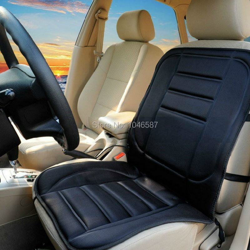 12v car heated seat cushion hot cover auto 12v heat auto heater warmer pad winter winter pad. Black Bedroom Furniture Sets. Home Design Ideas