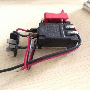 Image 4 - DL2A/2 GSB120 LI Schalter Werkzeug Teile 2609125169 Elektronische Geschwindigkeit Regulierung Schalter Für bosch 3601JF3081 Elektrische Bohrer Schraubendreher