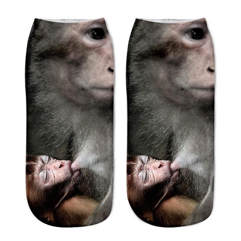 SLMVIAN New 3D Printing Women Socks Brand Sock Fashion Unisex Socks Cat Pattern Meias Feminina Funny Low Ankle HOT HTB1AKZDPFXXXXaKXVXXq6xXFXXXT