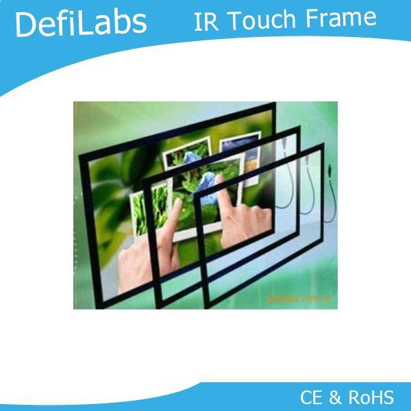 """DefiLabs bon prix, 42 """"cadre/panneau d'écran tactile Multi infrarouge avec 16:9 fromat, double-contact pour la publicité Interactive"""