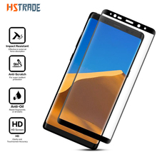 Фотография HSTRAOE 3D 9H Tempered Glass For Samsung Galaxy Note 8 Case Friendly Screen Protector Protective Film For Samsung Galaxy Note 8