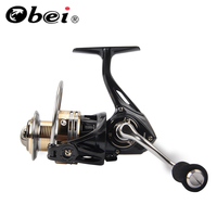 OBEI SR2000 Spinning Fishing Reel 7 + 1BB Bearing Balls 2000 Series Metal Coil Spinning Reel Boat Rock Fishing Wheel
