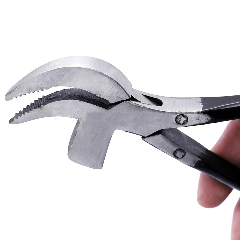 Leather Craft Pliers 7.9 Inch Leather Craft DIY Working Hand Tool Shoe Clippers Beak Repair Pincers
