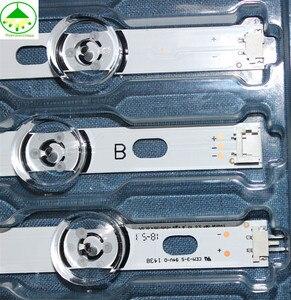 """Image 4 - 8 pz/lotto di Ricambio LED led di retroilluminazione per 42 """"LG 42LB5500 42LB5610 42LB570V LC420DUE FG 4 A + 4 B 100% NUOVO di Alluminio substrato"""