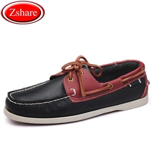 Brand Genuine Leather Men Shoes Boat Shoes Men Moccasins Business Slip-On Mens Loafers Design Hand Sewing Casual Driving Shoes new men s octopus leather penny loafers crocodile slip on driving shoes mens casual shoes moccasins business boat shoes branded