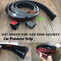 Rubber Car Styling Moulding Strip 36mm Width 1.5m Length Exterior Rear Spoiler wheel for Saab Mitsubishi Chevrolet honda Peugeot