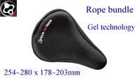 VELO ( FOURIERS NEW ) Mountain Bike Saddle Rope bundle Gel technology Bicycle Saddle 254~280 x 178~203mm Back Seat Mat
