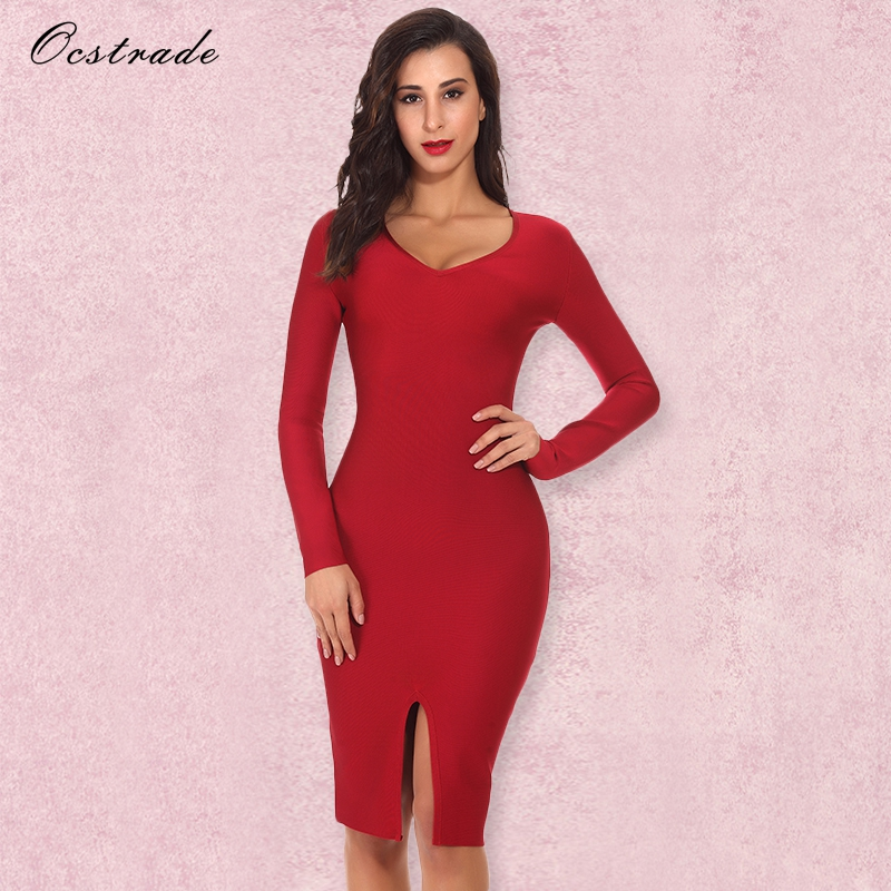 Aliexpress.com : Buy Ocstrade Sexy Bandage Dress 2017 New
