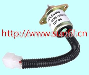 Fuel Shut Off Shutdown Solenoid 17594-6001-4,,12V free fast shipping чайник bosch twk 6001