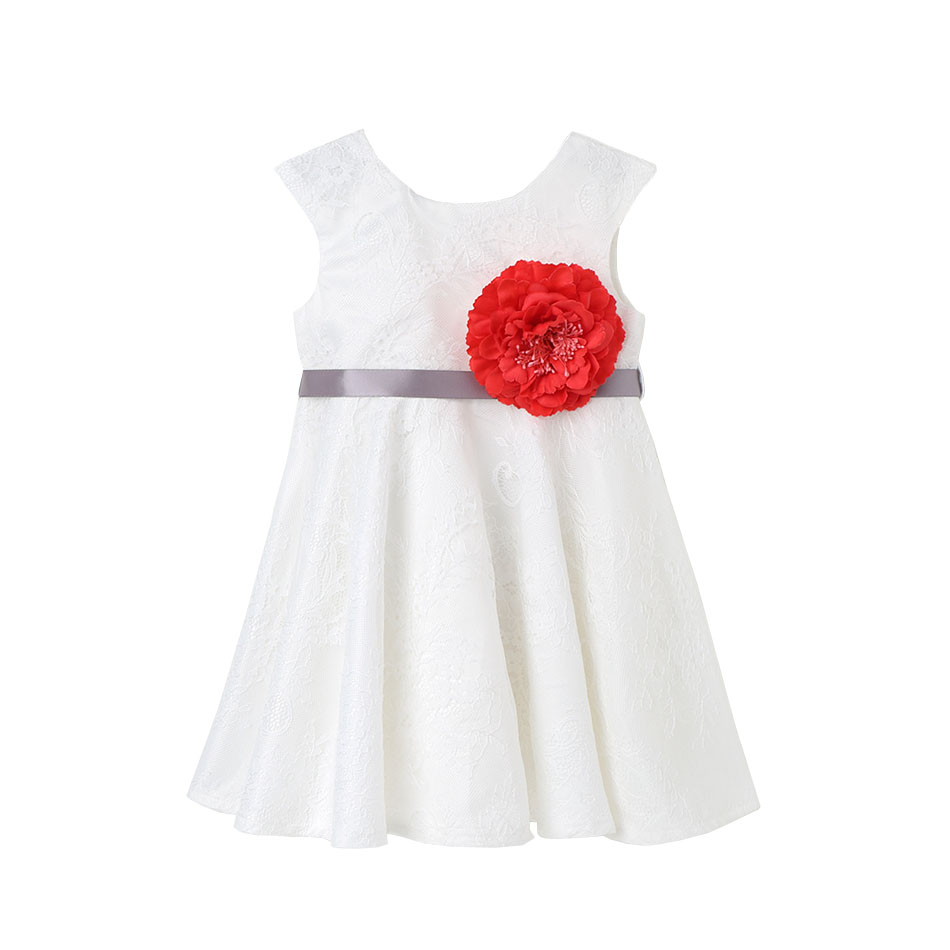 Flower Girls Lace Dress Party Spring/Autumn Clothing Costume Kids Princess Flower Baby Mesh Dresses Girl Roupas Infantis Menina 2016 summer new baby girls party dress sequin tutu princess dress for girl suit 2 7t kids white roupas infantis menina