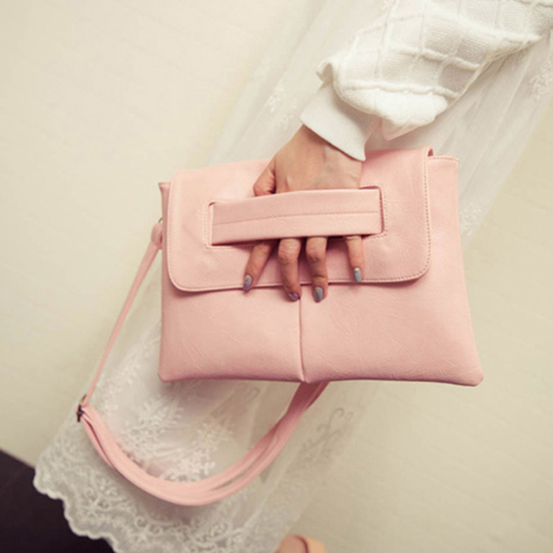 ФОТО  Women Messenger Bags PU Leather Handbags Famous s Crossbody for Multifunction Function