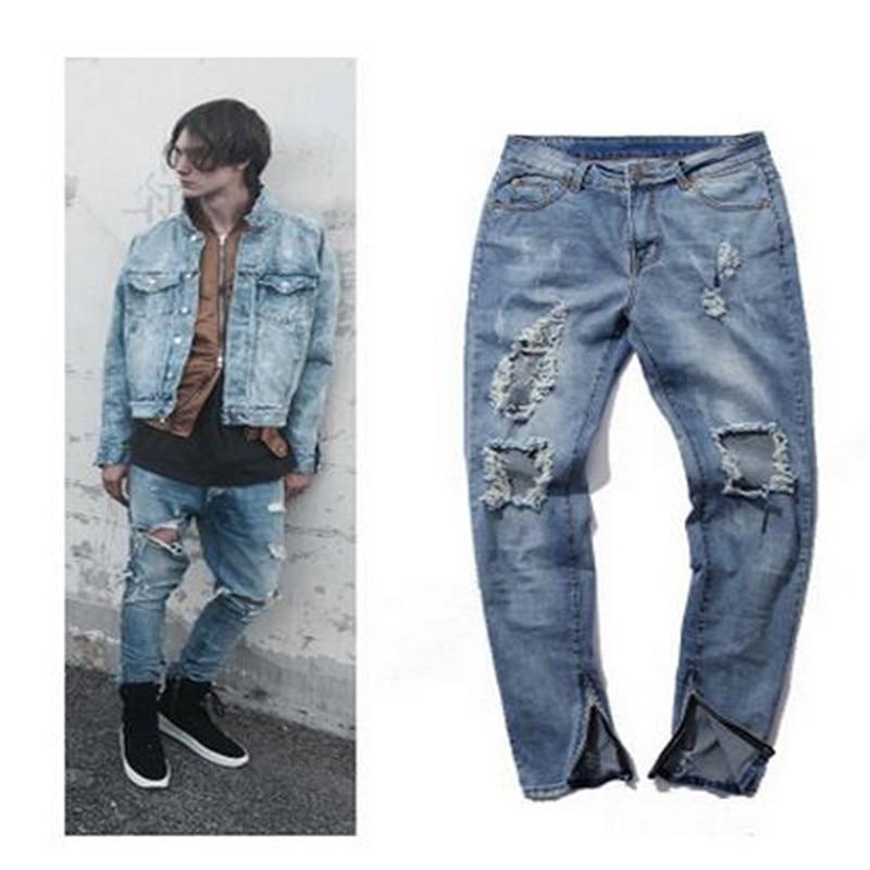 High Quality Destroyed Jeans Men-Buy Cheap Destroyed Jeans Men ...
