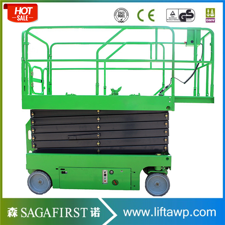 6m 18m Stable Hydraulic Electric Scissor Lift With Self-propelled