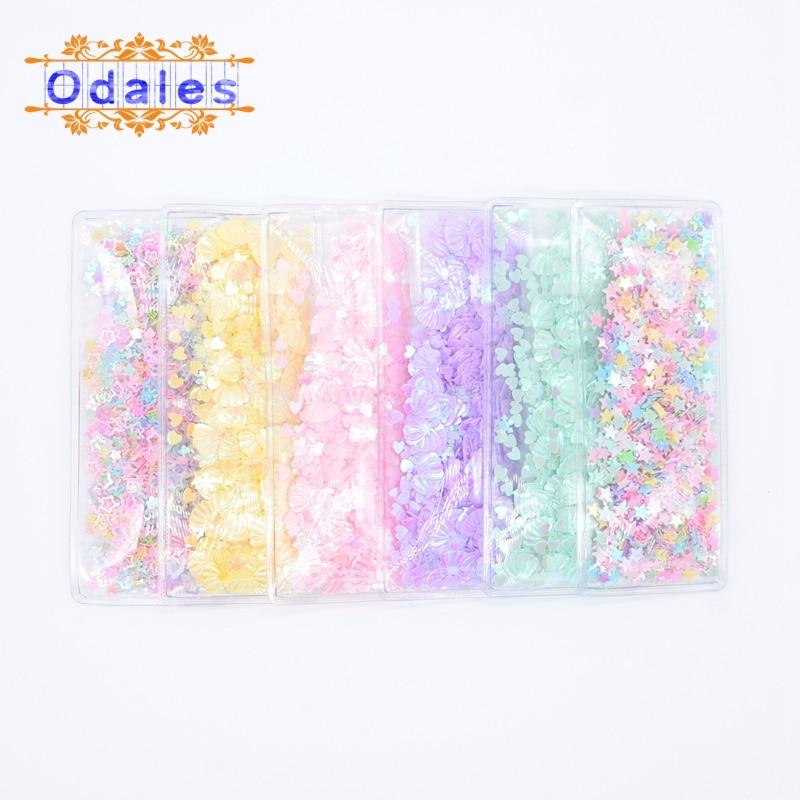 12Pcs Sweet Korean Women Hair BB Clips Appliques Square Transparent Hairpins Shell/Snowflake Sequin Barrette Patches Accessories