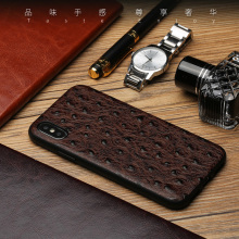 For iPhone X 10 Case Luxury Genuine Leather Cases for iPhone XS Max XR 6 6S 7 8 Plus Cover Corium Shell Bags silicone