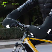 Cycling Riding Arm Warmers Windproof Outdoor Sports RockBros Mountain Road Bike Gloves Cover In Winter Warm