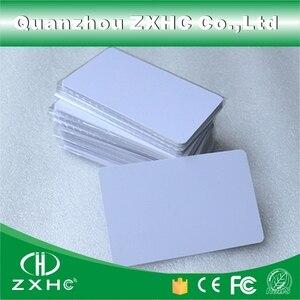 Image 3 - (10 ピース/ロット) FM1108 (互換 S50) 防水 PVC スマート白カード RFID タグ 13.56 Mhz のアクセス制御のための