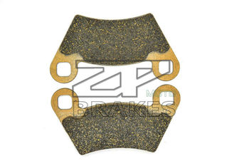 Organic Brake Pads For POLARIS 500 Sportman Touring HO 2011-2013 Rear OEM New ZPMOTO High Quality image