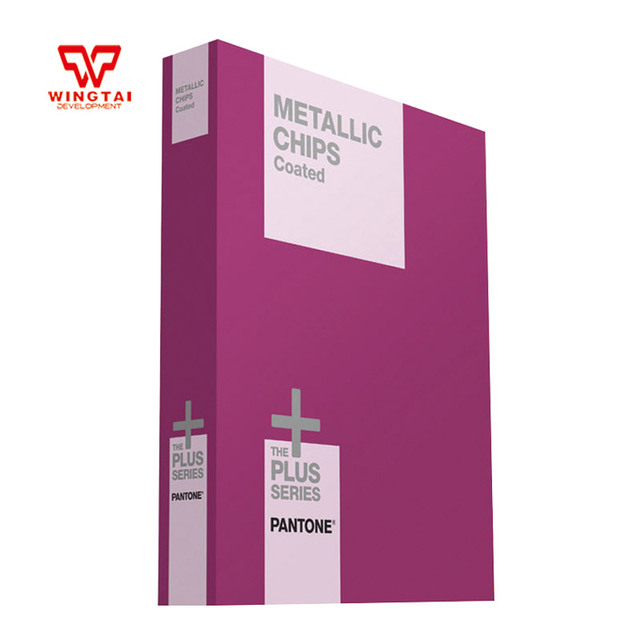 Newest 1 Book Metallics Chips Coated Gb1507 Pantone Color Guide In