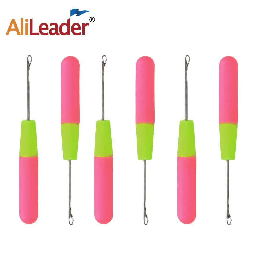Alileader крючком иглы Инструменты для завивки волос иглы для косы Вязание и крючком иглы для Jumbo плетение крутить волосы 1 шт./лот