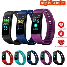 K35 Цвет Экран Смарт Браслет Спорт Браслет сердечного ритма Приборы для измерения артериального давления кислорода Фитнес трекер для iOS смартфонов на базе Android