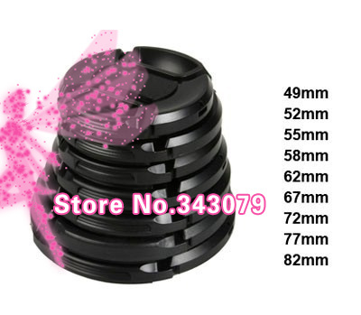 9PCS 49mm 52mm 55mm 58mm 62mm 67mm 72mm 77mm82mm Camera Lens Cap Protection Cover Lens Accessories