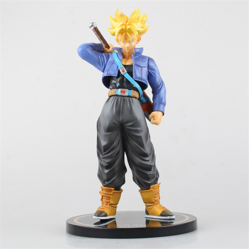 Anime Dragon Ball Z Super Saiyan Trunks Dragon Ball F.ZERO EX PVC Action Figure Model Toy for Anime Lover Christmas Gift  N101 anime dragon ball figuarts zero super saiyan 3 gotenks pvc action figure collectible model toy 16cm kt1904