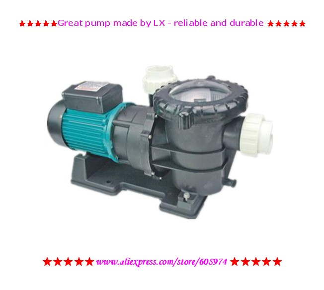 LX swim pool pump STP120 900W 1 2HP Qmax 300 Hmax 13 465L with filtration