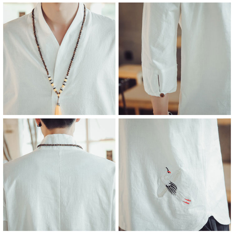 Retro Linen Shirts 5