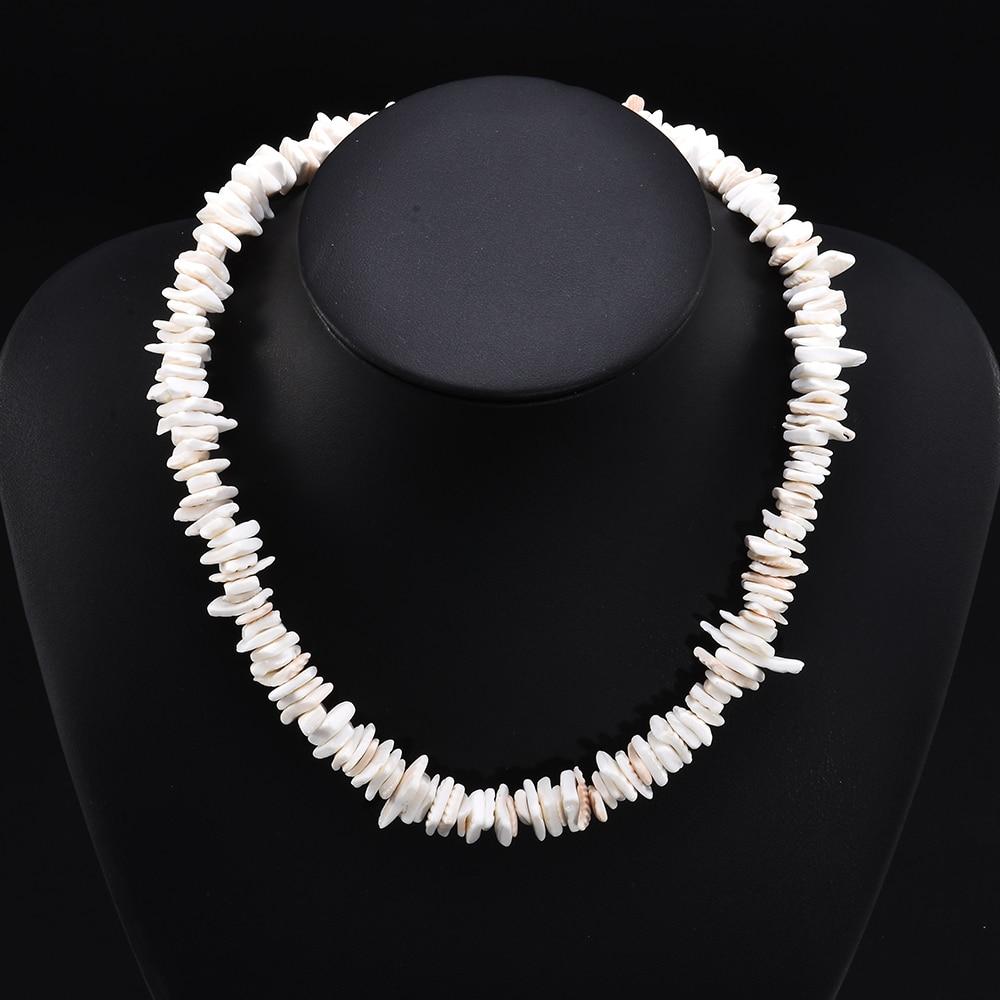 Natural Cowrie Sea Shell Puka Choker Necklace Boho Surfer Beach Tribal Jewelry `