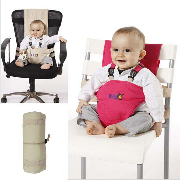 Superbe Baby Chair Portable Infant Seat Product Dining Lunch Chair/Seat Safety Belt  Feeding High Chair