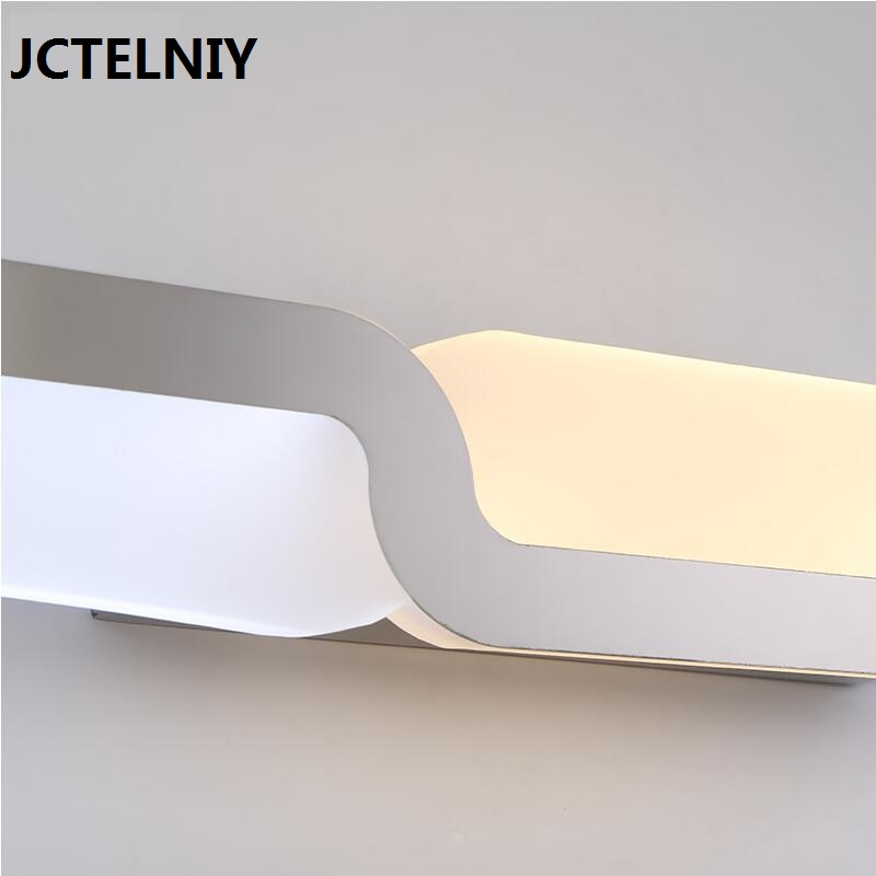Online Shop Mirror Light Led Waterproof Antimist Bathroom Glass Wall Lamp Nordic Brief Modern Cabinet Lighting