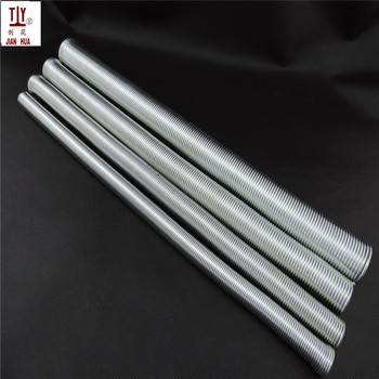 Free shipping 4pcs long 500mm DN16/20/25/32mm manual pvc pipe bender out- spring wire tube bending tool curve spring Silver