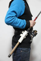 New Fishing Rod Holder Fishing Belt Tube Pole Holster An Extra Helping Hand Free Shipping
