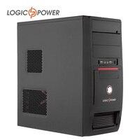 LOGIKA dissipat ZASILANIA ATX przypadku komputera stacjonarnego Nowościach Szybko ciepła 80mm WENTYLATOR, CD-ROMx2, HDDx1, PCIx7, USBx2, AUDIO In/Out #3924