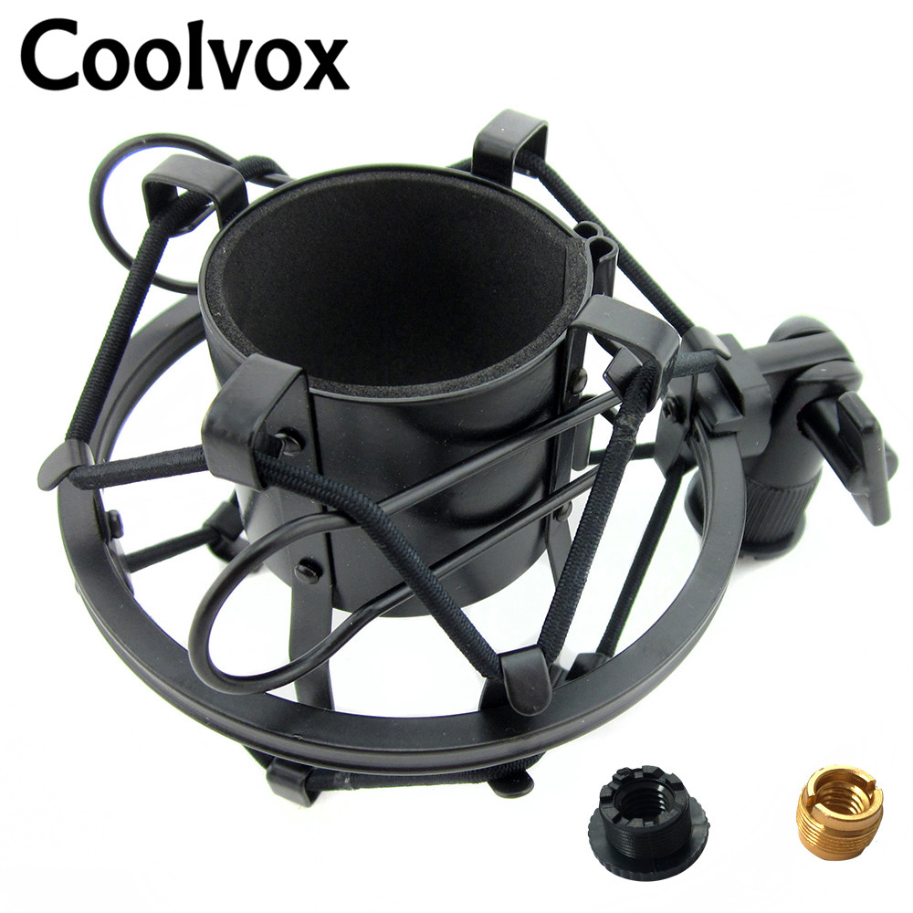 Metal Material Universal Microphone Shock Mount Shockmount Fit for BM 800 BM700 Condenser Microfono Wired MIC