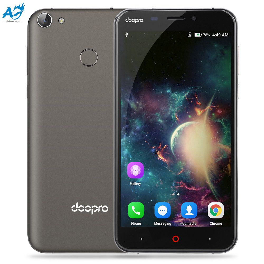 Original Doopro P2 Pro 4G Smartphone Android 6.0 Qualcomm MSM8909 Quad-Core 1.3GHz 2GB RAM 16GB ROM Smart Wake OTA GPS Cellphone