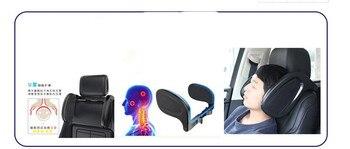 Evrensel otomobiller iç u şekli pamuk araba yan uyku kafalık desteği boyun yastık kafa koltuk destekler 4 mevsim