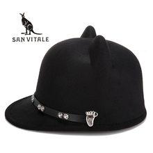 Fedora para las mujeres sombreros fascinator kapelusz muchacha tapas partido  señoras sombreros Sun mujer sombrero elegante 6e8789b4ec84