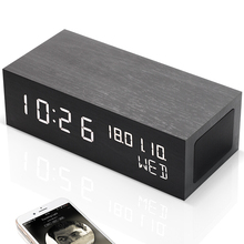 Bluetooth Speaker with LED Alarm Clock thermometer Night Light Digital Timmer Better Bass with Wake up Clock Weather Station