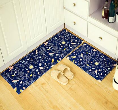 2pcs Lot Bathroom Floor Mat Set Doormats Balcony Kitchen Rugs Living Room Bedside Carpet Footcloth