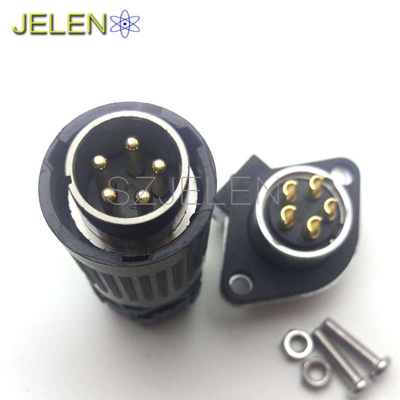 ⓪HE20,5 pin automotive electrical wire connectors,car charging ...