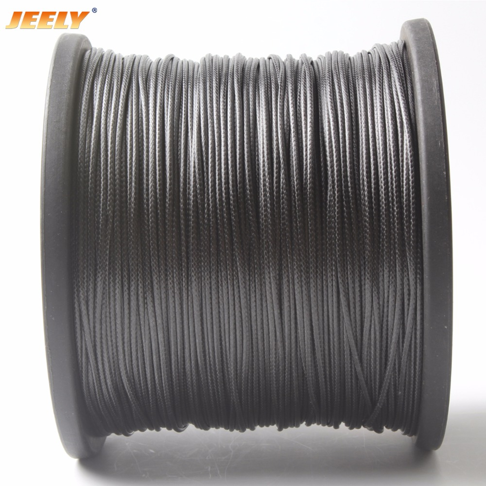 JEEY 1.7mm 10M UHMWPE Core With UHMWPE Jacket Towing Rope Spearfishing Speargun