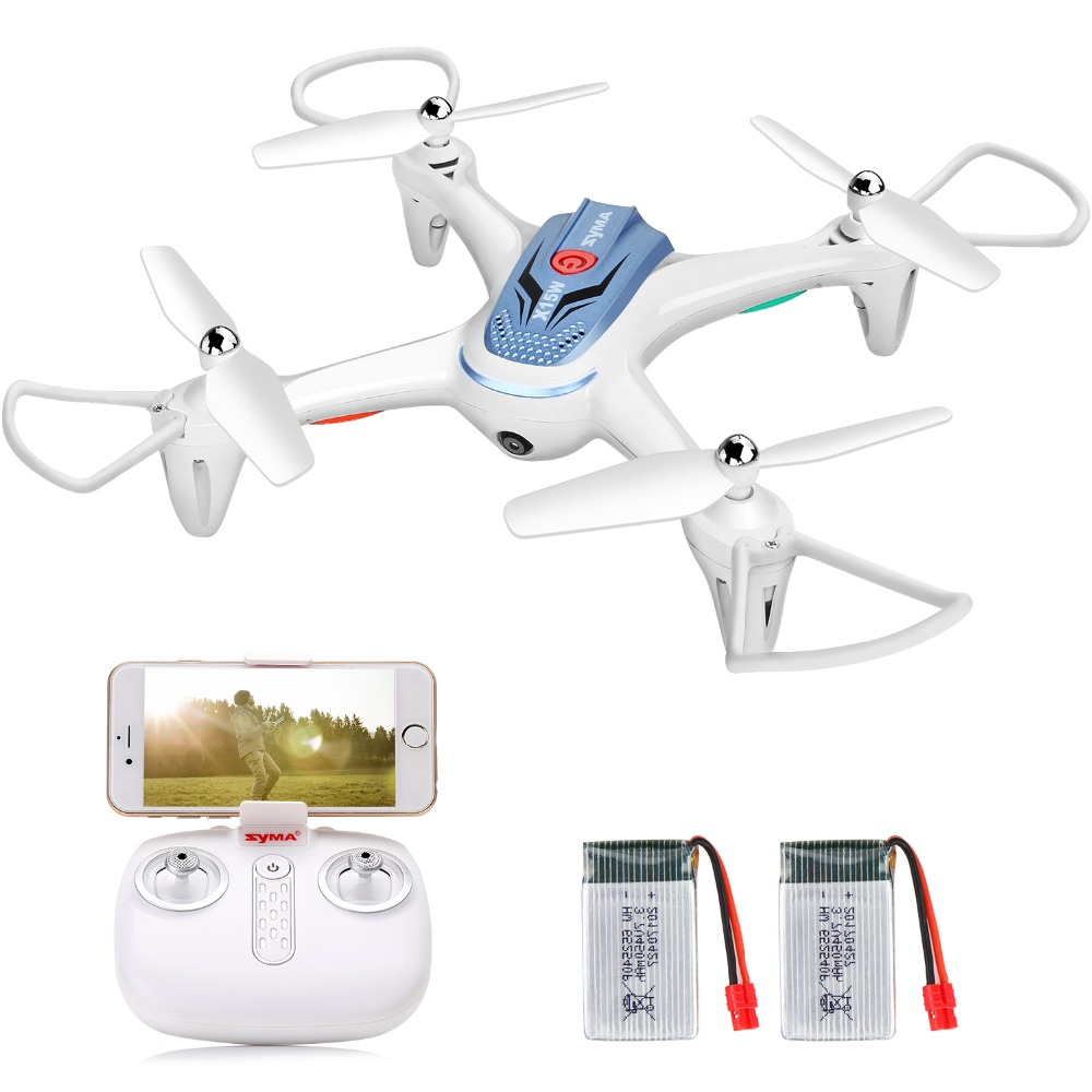 SYMA X15W RC hélicoptère télécommande quadrirotor Drone 4CH 2.4 GHz Aircraft6-Axis Gyro 3D rabat poche Dron jouets pour enfants