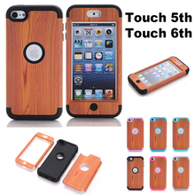 New Style Multi Colors Impact Hard & Soft Silicone Hybrid Shockproof Case Cover For iPod Touch 5 6th Generation touch 5 case ipod touch 5 case no fade no peel magicsky owl pattern full body hybrid impact shockproof defender case cover for apple ipod touch 5 5th generation 1 pack retail packaging
