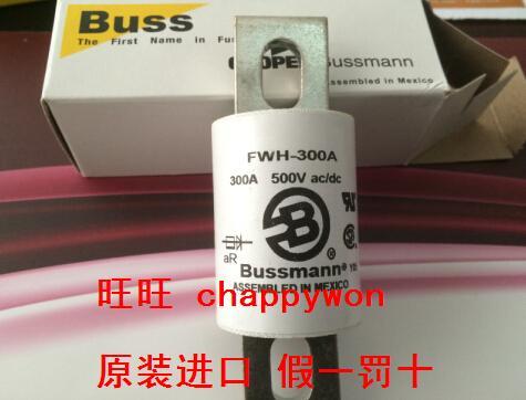 Importer fusible bussmann FWH-300A H500V corps de fusible d'origine